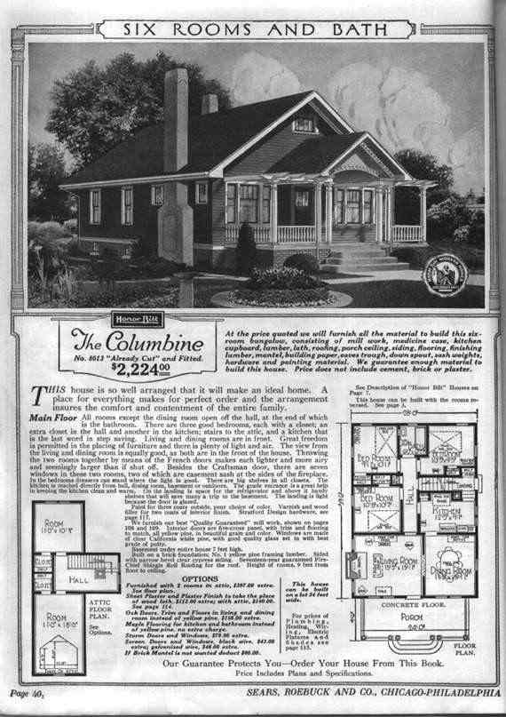 The Whole Kit and Caboodle: Sears Kit Homes, and My Unfortunate Tendency to Get Caught Up in Research (2/2)