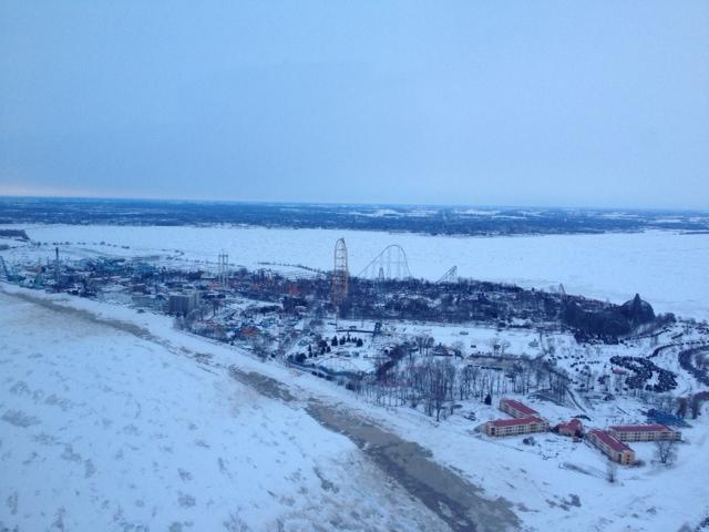CedarPoint in Winter