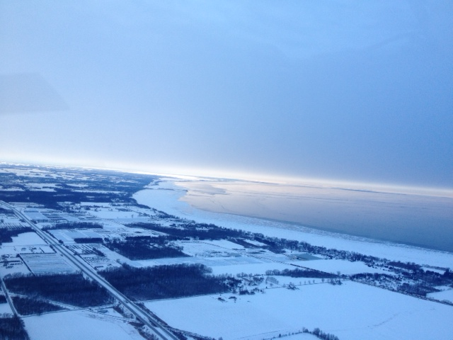 Horizon Looking West Over Lake Erie