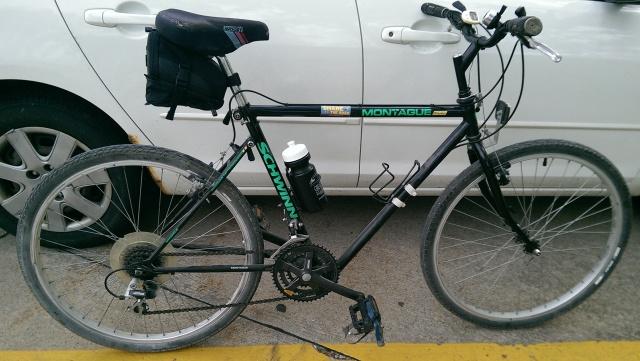 montague foldiing bike