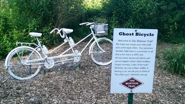 Ghost Bicycle Montour Trail