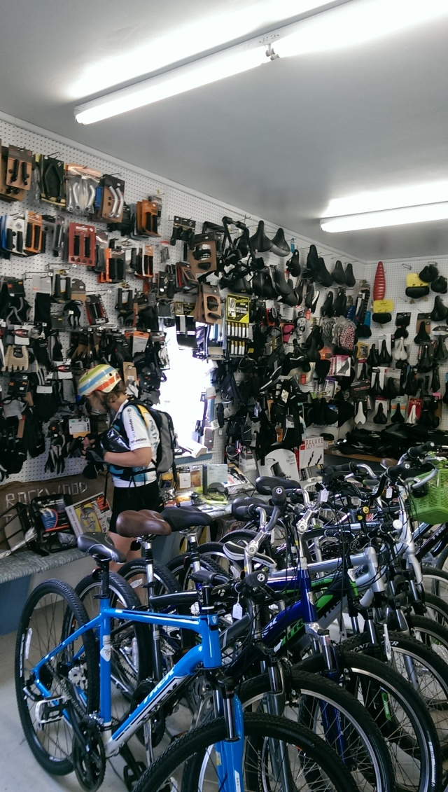 Trailside Bike Shop -- We have everything to suit your biking needs.