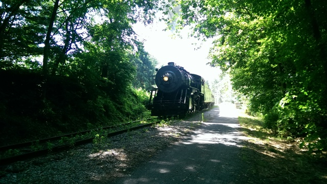 Steam Train on Great Allegheny Passage