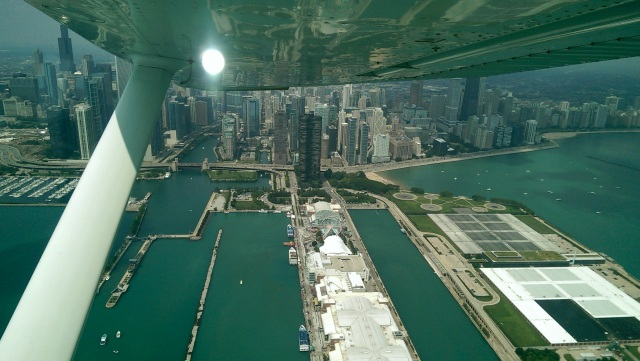 Navy Pier from the Air