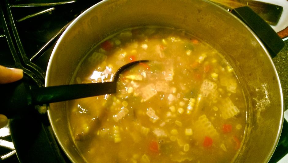 Garden Fresh Corn Soup