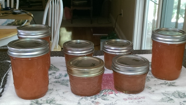 Ginger Pear Jam