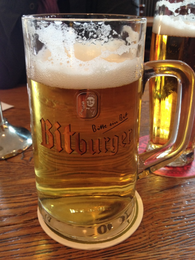 Bitburger Beer