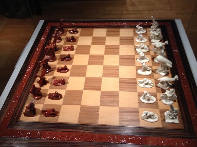 Nazi Chess Set -- Rijks Museum